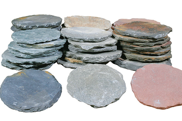Handworked Stepping Stones